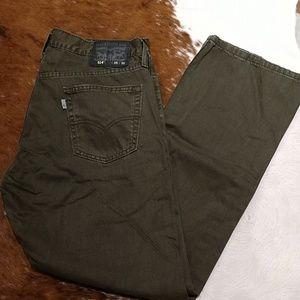 Men's Levi 514 jeans size 35 X 30 NWOT